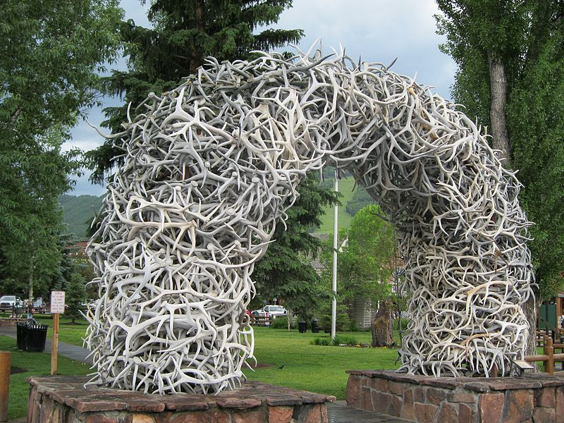 Jackson Hole Town Square Arch