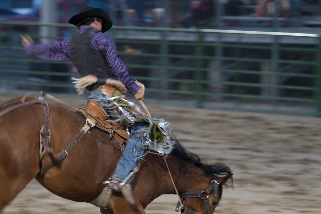 Jackson Hole summer rodeo